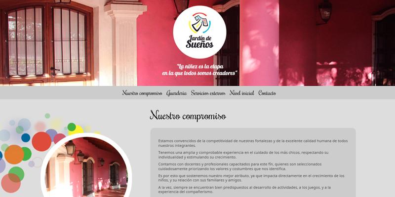 Web Guardería